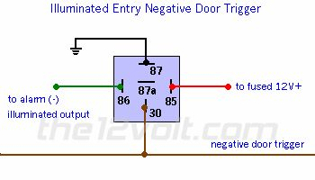 diy wiring diagrams for light switches 1994 yamaha banshee diagram 2 wire negative door trigger relay with fade | ... triggers, the output is
