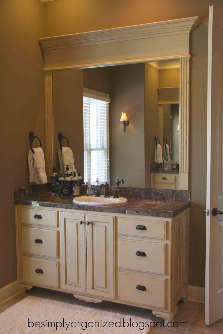 25 best ideas about Crown molding mirror on Pinterest