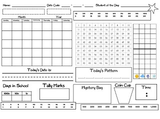 52 Best images about Calendar/Opening Routine on Pinterest
