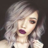 Best 20+ Purple Grey Hair ideas on Pinterest