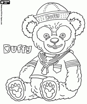 269 best images about Duffy the Disney Bear on Pinterest