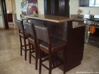 kitchen island raised bar