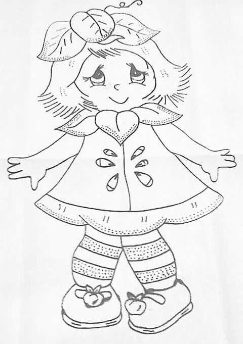 206 best images about niñas para pintar C: on Pinterest