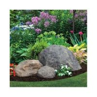 Fake Rock Garden Outdoor Decor Natural Faux Large Boulder ...
