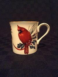 Lenox Porcelain Catherine Mclung Winter Greeting Cardinal ...