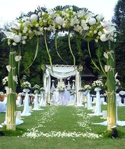 15 Best Images About Wedding Arbor Arch Decorations On Pinterest