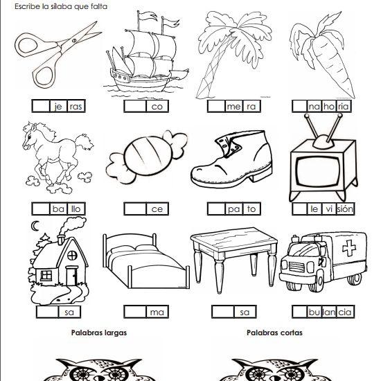 Actividades imprimibles para primaria: Actividades sobre
