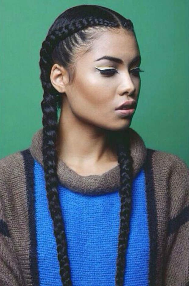 25 Best Ideas About Single Braids Hairstyles On Pinterest