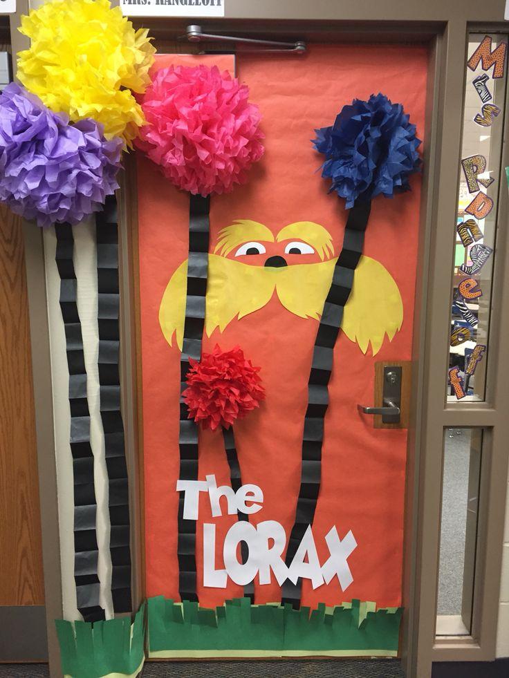 The Lorax door decoration