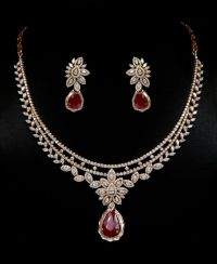 17 Best ideas about Ruby Necklace on Pinterest
