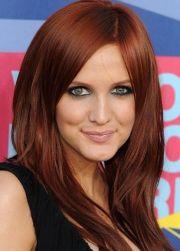 red hair color fair skin