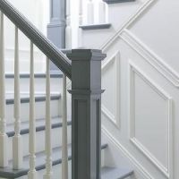 The 25+ best ideas about Painted Banister on Pinterest