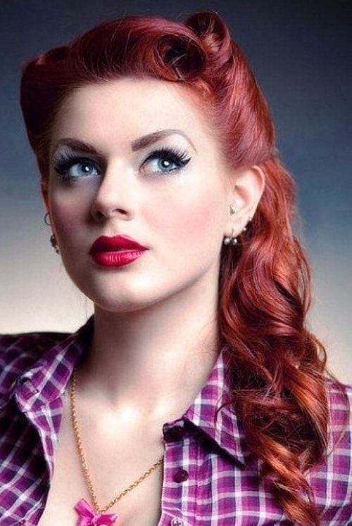 25 Best Ideas About Pin Up Hairstyles On Pinterest Wedding Hair
