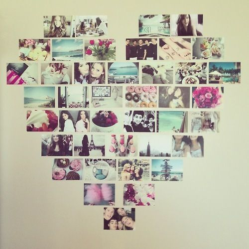 25+ Best Ideas about Photo Heart Collage on Pinterest