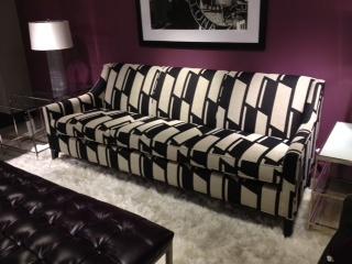 sofas and stuff alton charleston super sofa fire audio cara in hipster tuxedo fabric by mitchell gold + bob ...