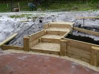 25+ best ideas about Railroad tie retaining wall on ...