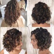 layered curly hair ideas