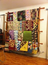 How To Make A Standing Quilt Rack