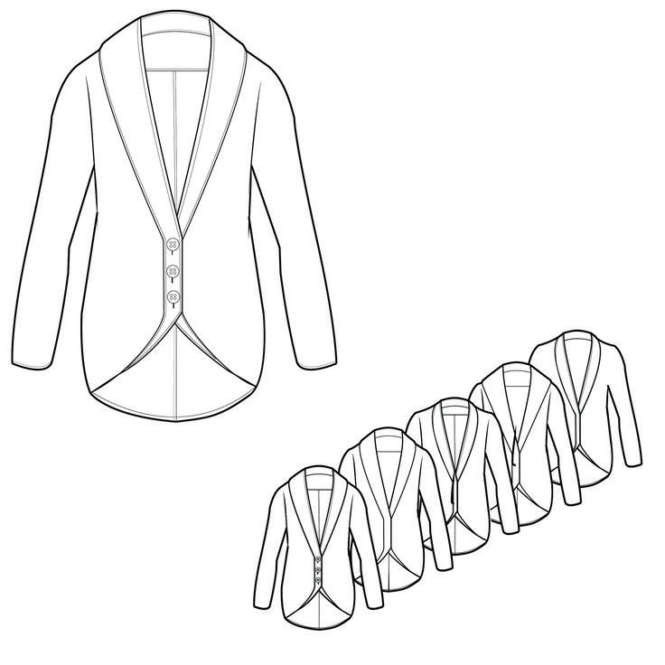 1000+ images about Fashion Technical Drawings on Pinterest