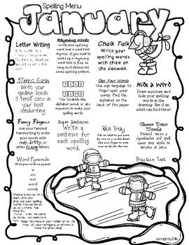 1000+ ideas about Spelling Homework on Pinterest