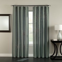 Teal Blue Living Room Curtains Beige And Purple Apt. 9 Bailee Floral Window Panel - 54'' X 84'' | ...