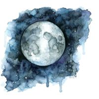 25+ best ideas about Moon painting on Pinterest ...