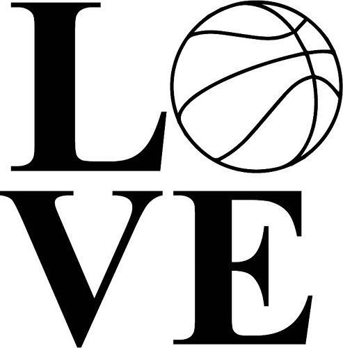 Love Basketball   The Craft Chop   SVGs - The Craft Chop ...