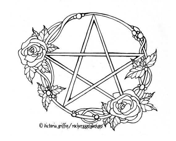 17 Best images about Pagan Coloring pages on Pinterest