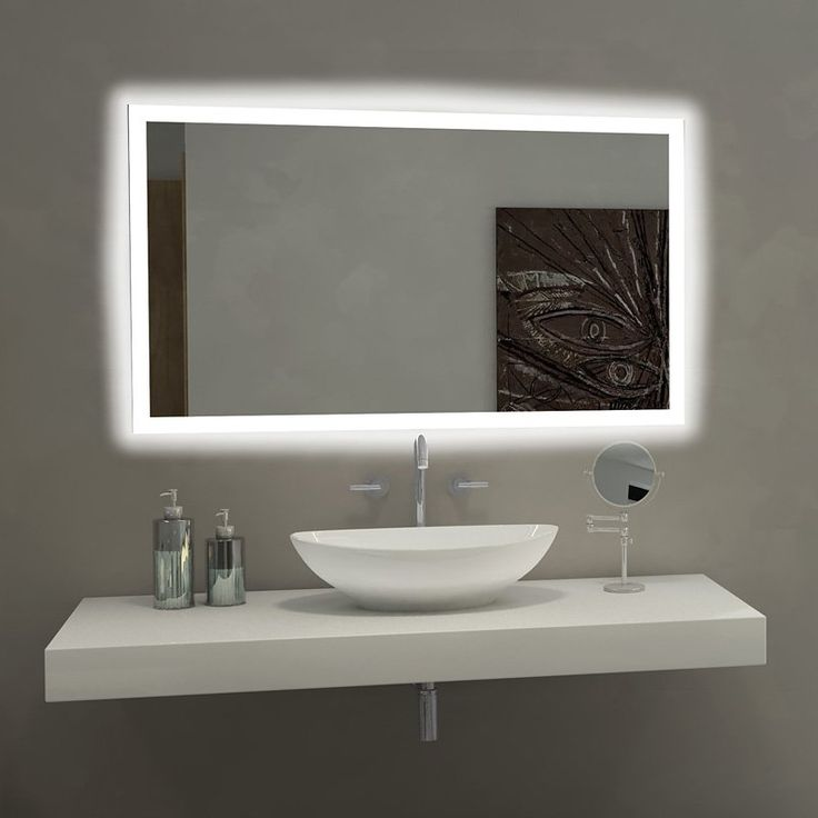 25+ best ideas about Mirror with lights on Pinterest