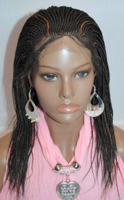 braided wigs - lace front