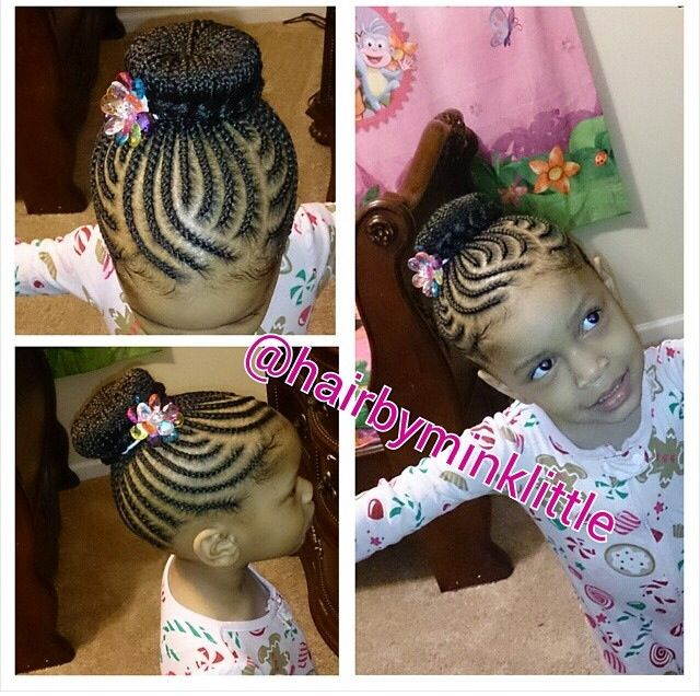 231 Best Images About Cornrow Styles For Little Girls On Pinterest