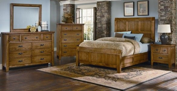 Vaughan Bassett Timber Mill Collection Also Available In
