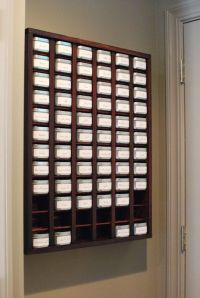 Diy Wall Mounted Spice Rack - WoodWorking Projects & Plans
