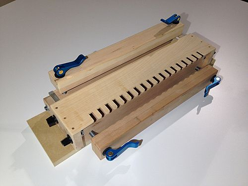 18 best images about CARPINTERIA Router Dovetail Jig on