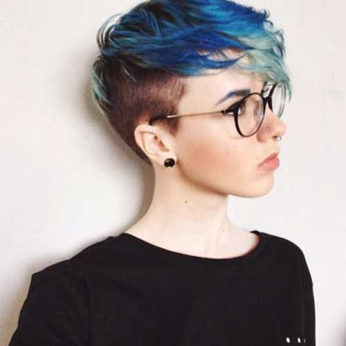 25 Best Ideas About Half Shaved Hairstyles On Pinterest Girls