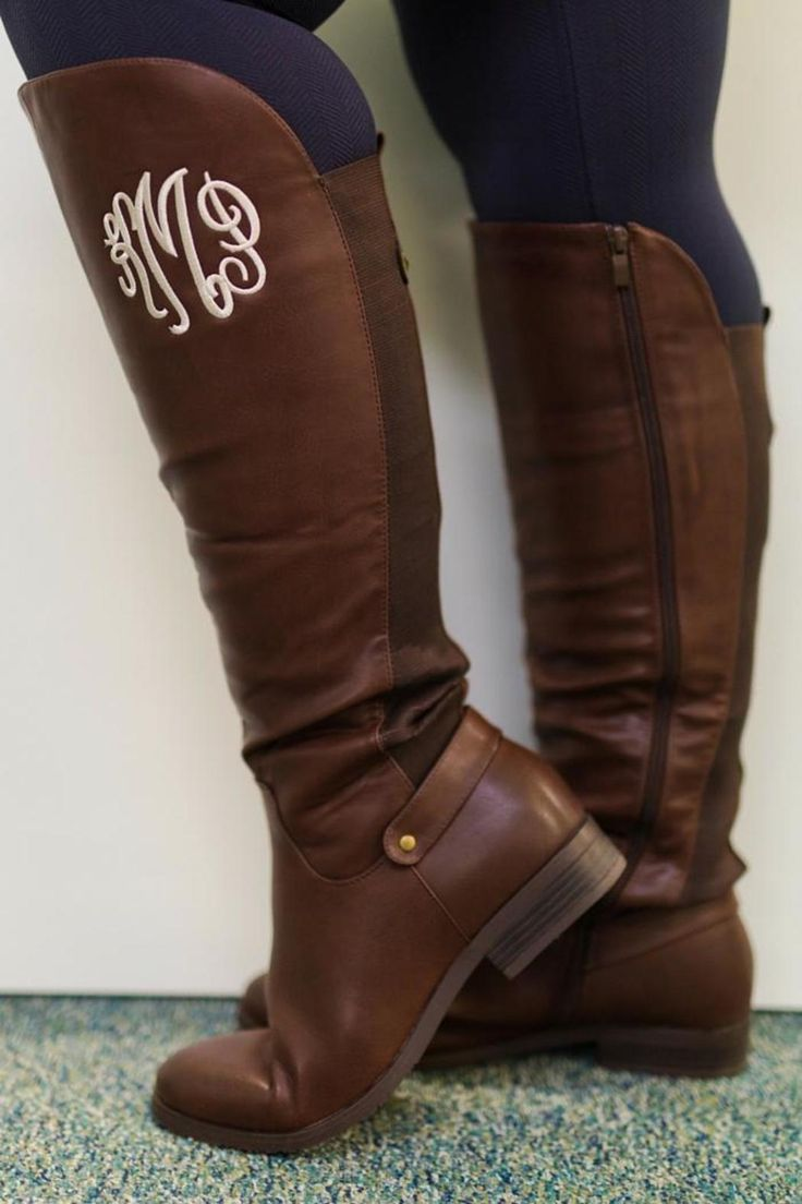 monogrammed hunter boots