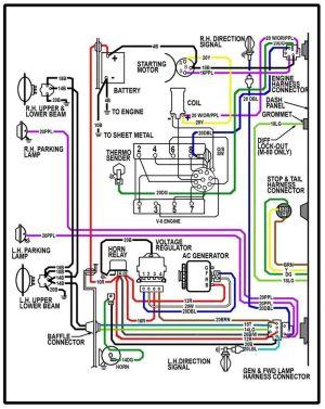 64 chevy c10 wiring diagram | Chevy Truck Wiring Diagram