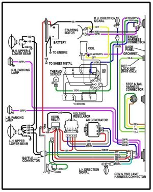 64 chevy c10 wiring diagram | Chevy Truck Wiring Diagram | 64 Chevy truck ideas | Pinterest