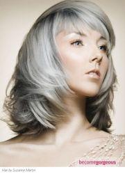 hair grey