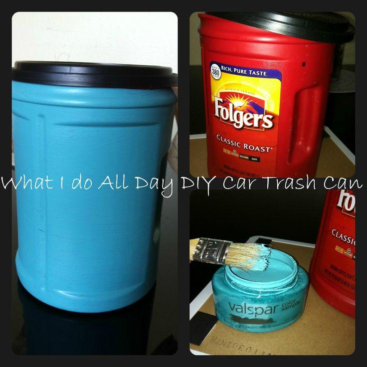 17 Best ideas about Car Trash Cans on Pinterest  Diy car