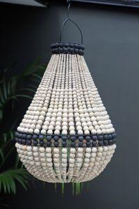 1000+ ideas about Beaded Chandelier on Pinterest | Wood ...