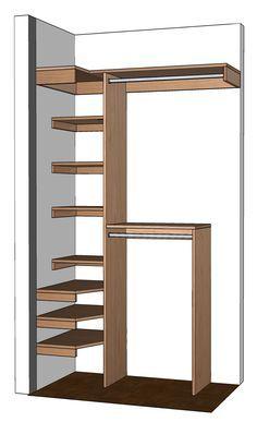 Small Closet Organization Diy Organizer Plans