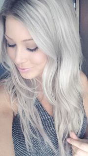 ash blonde hair silver vixen