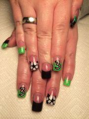 ideas soccer nails
