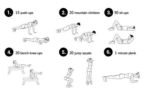 Basic Everyday Workout Neila Rey Everyday Workout Basic