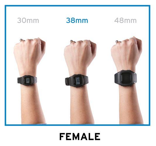 Female Wrist Size Guide | Wearable Inspiration | Pinterest ...
