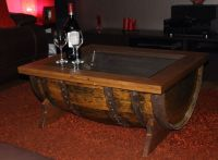 1000+ ideas about Barrel Coffee Table on Pinterest