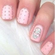 skull nail art nails