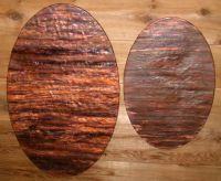 Hammered Copper Art | Custom abstract modern metal wall ...