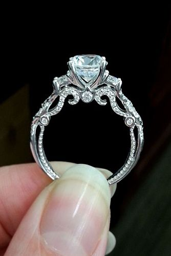 25 best ideas about Custom engagement rings on Pinterest